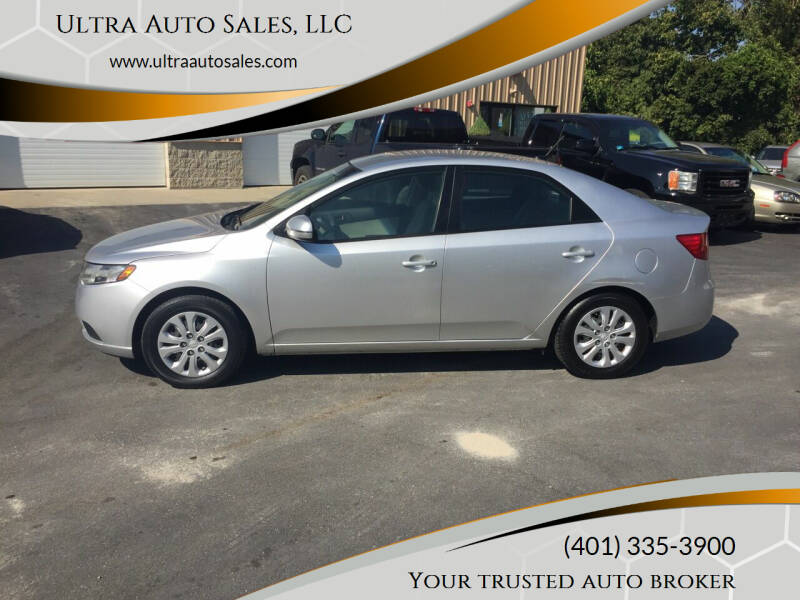2012 Kia Forte for sale at Ultra Auto Sales, LLC in Cumberland RI