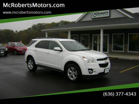 2014 Chevrolet Equinox for sale at McRobertsMotors.com in Warrenton MO