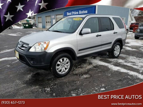 2006 Honda CR-V for sale at Best Price Autos in Two Rivers WI