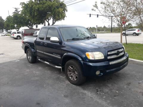 2004 Toyota Tundra for sale at LAND & SEA BROKERS INC in Deerfield FL