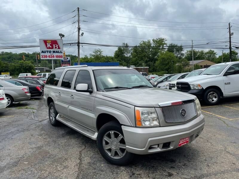 2006 Cadillac Escalade ESV for sale at KB Auto Mall LLC in Akron OH