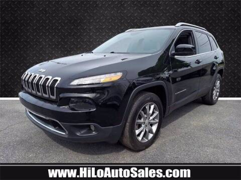 2018 Jeep Cherokee for sale at Hi-Lo Auto Sales in Frederick MD