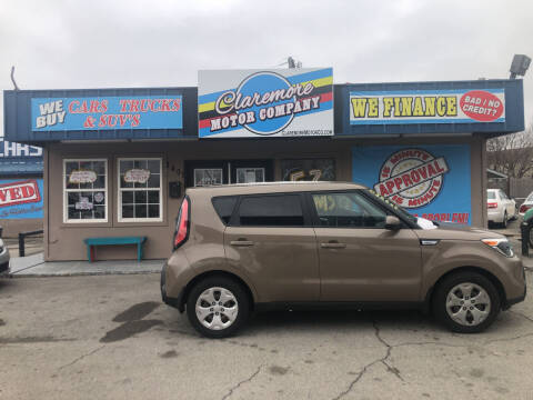 2015 Kia Soul for sale at Claremore Motor Company in Claremore OK