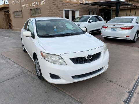 2010 Toyota Corolla for sale at CONTRACT AUTOMOTIVE in Las Vegas NV