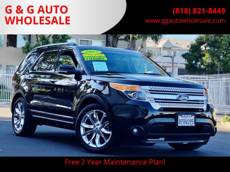 2012 Ford Explorer for sale in North Hollywood, CA