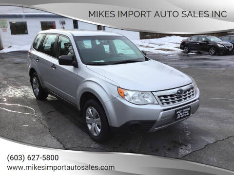 2011 Subaru Forester for sale at Mikes Import Auto Sales INC in Hooksett NH