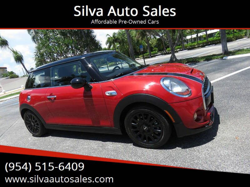 2016 MINI Hardtop 2 Door for sale at Silva Auto Sales in Pompano Beach FL
