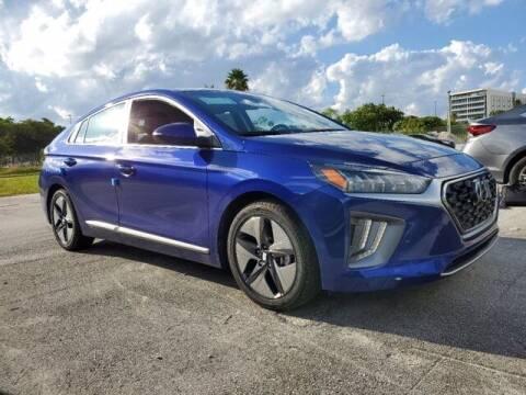 2022 Hyundai Ioniq Hybrid for sale at DORAL HYUNDAI in Doral FL
