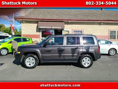 2014 Jeep Patriot for sale at Shattuck Motors in Newport VT