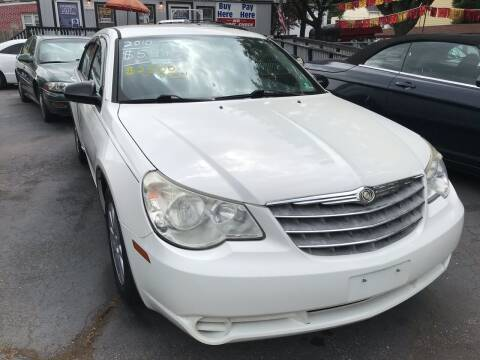 2010 Chrysler Sebring for sale at Chambers Auto Sales LLC in Trenton NJ
