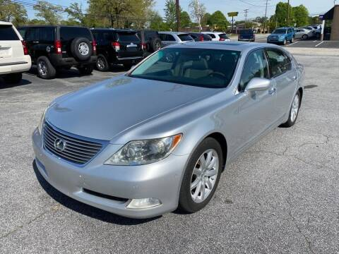2007 Lexus LS 460 for sale at Brewster Used Cars in Anderson SC