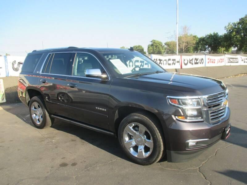 2016 Chevrolet Tahoe for sale at Quick Auto Sales in Modesto CA