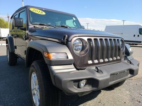 2018 Jeep Wrangler Unlimited for sale at FRED FREDERICK CHRYSLER, DODGE, JEEP, RAM, EASTON in Easton MD