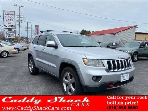 2011 Jeep Grand Cherokee for sale at CADDY SHACK CARS in Edgewater MD