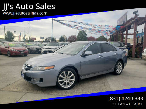2008 Acura TSX for sale at JJ's Auto Sales in Salinas CA