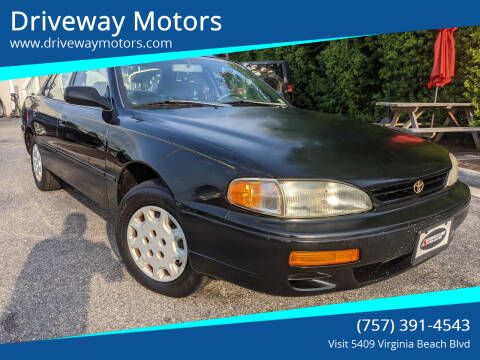 1995 Toyota Camry for sale at Driveway Motors in Virginia Beach VA