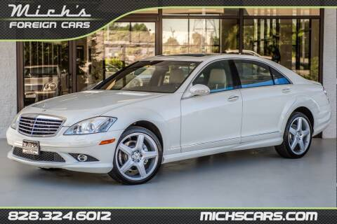 2009 Mercedes-Benz S-Class for sale at Mich's Foreign Cars in Hickory NC