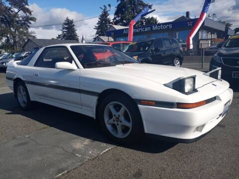 1989 Toyota Supra for sale at All American Motors in Tacoma WA