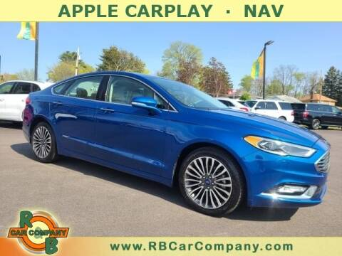 2017 Ford Fusion for sale at R & B Car Company in South Bend IN