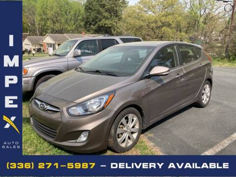 2013 Hyundai Accent for sale at Impex Auto Sales in Greensboro NC
