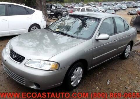2002 Nissan Sentra for sale at East Coast Auto Source Inc. in Bedford VA