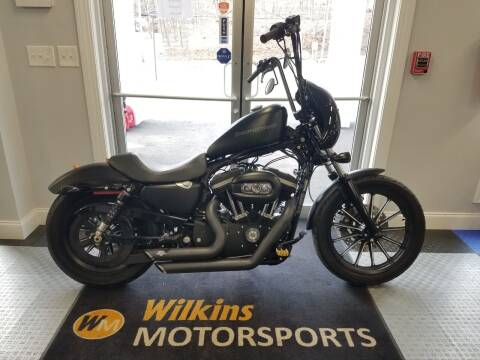 2010 Harley-Davidson Sportster Iron 883 for sale at WILKINS MOTORSPORTS in Brewster NY
