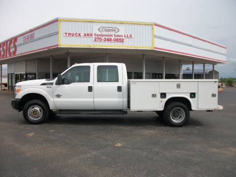 2011 Ford F350 4x4 Service Truck for sale at Classics Truck and Equipment Sales in Cadiz KY