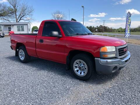 2007 GMC Sierra 1500 Classic for sale at RAYMOND TAYLOR AUTO SALES in Fort Gibson OK