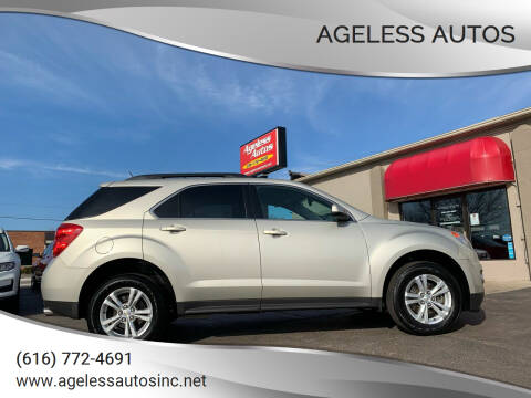 2015 Chevrolet Equinox for sale at Ageless Autos in Zeeland MI