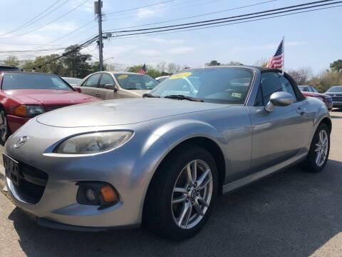 2013 Mazda MX-5 Miata for sale at Mega Autosports in Chesapeake VA