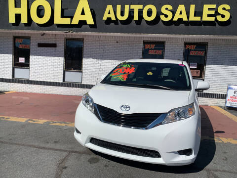 2014 Toyota Sienna for sale at HOLA AUTO SALES CHAMBLEE- BUY HERE PAY HERE - in Atlanta GA