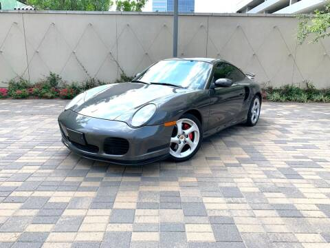 2002 Porsche 911 for sale at ROGERS MOTORCARS in Houston TX