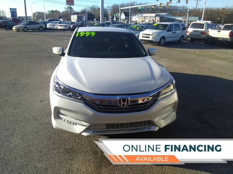 2017 Honda Accord for sale at Marino's Auto Sales in Laurel DE