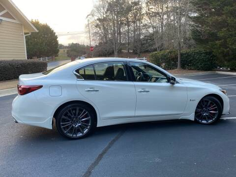 2020 Infiniti Q50 for sale at Paramount Autosport in Kennesaw GA