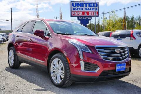 2017 Cadillac XT5 for sale at United Auto Sales in Anchorage AK