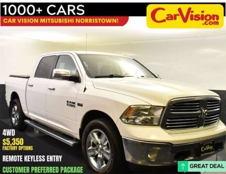 2016 RAM Ram Pickup 1500 for sale at Car Vision Buying Center in Norristown PA