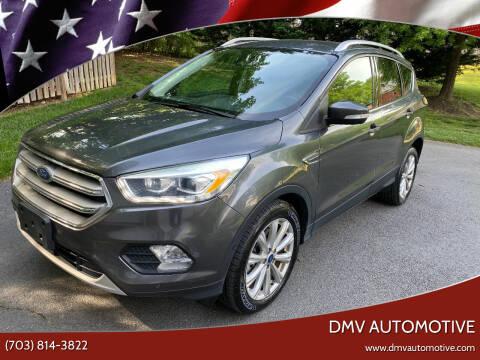2017 Ford Escape for sale at DMV Automotive in Falls Church VA