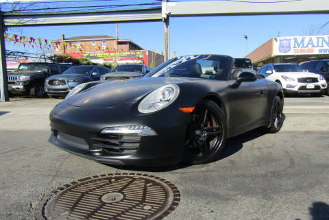 2015 Porsche 911 for sale at MIKEY AUTO INC in Hollis NY