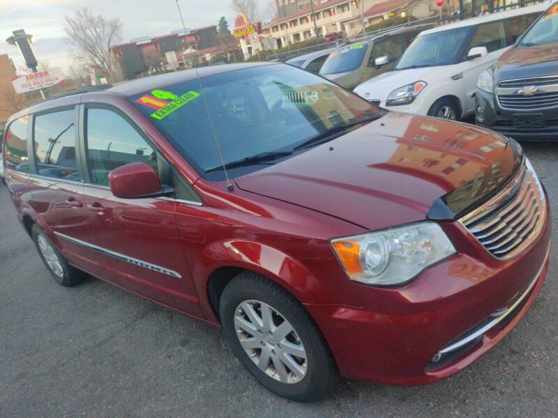 2014 Chrysler Town and Country for sale at Sanaa Auto Sales LLC in Denver CO