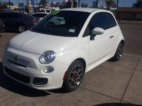 2013 FIAT 500 for sale at Sunday Car Company LLC in Phoenix AZ