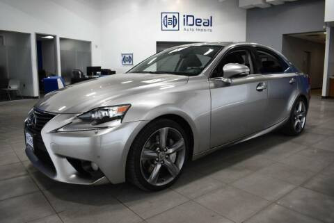 2014 Lexus IS 350 for sale at iDeal Auto Imports in Eden Prairie MN
