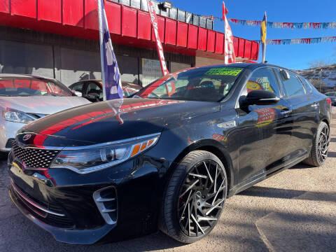 2016 Kia Optima for sale at Duke City Auto LLC in Gallup NM