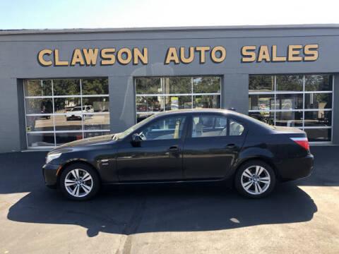 2010 BMW 5 Series for sale at Clawson Auto Sales in Clawson MI