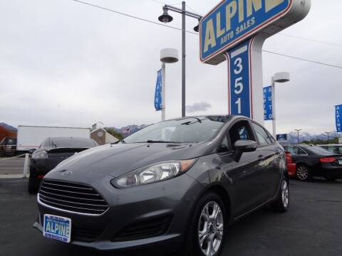 2014 Ford Fiesta for sale at Alpine Auto Sales in Salt Lake City UT