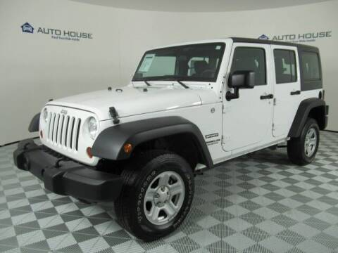 2012 Jeep Wrangler Unlimited for sale at Curry's Cars Powered by Autohouse - Auto House Tempe in Tempe AZ