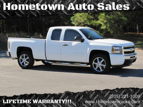 2009 Chevrolet Silverado 1500 for sale at Hometown Auto Sales - Trucks in Jasper AL