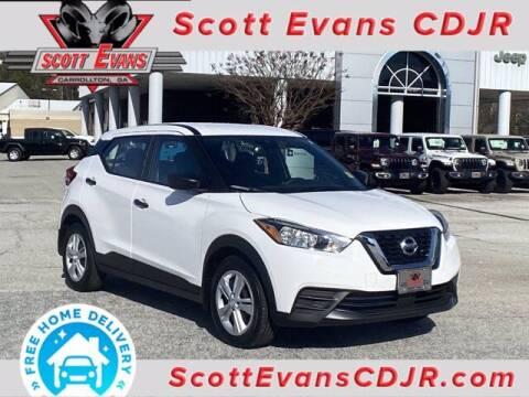 2020 Nissan Kicks for sale at SCOTT EVANS CHRYSLER DODGE in Carrollton GA