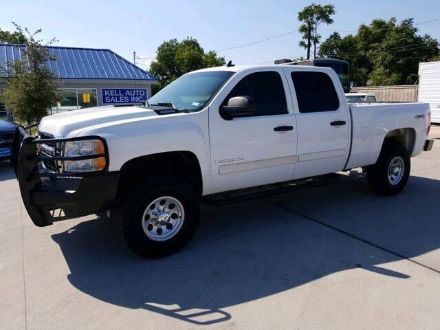 2008 Chevrolet Silverado 2500HD for sale at Kell Auto Sales, Inc in Wichita Falls TX
