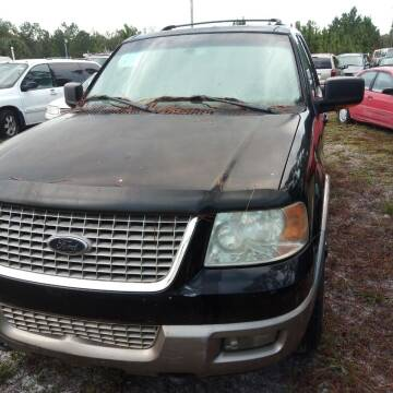 2003 Ford Expedition for sale at MOTOR VEHICLE MARKETING INC in Hollister FL