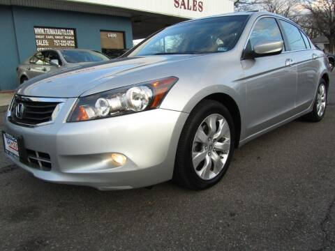 2009 Honda Accord for sale at Trimax Auto Group in Norfolk VA